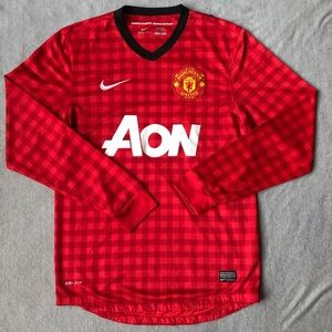 Men's Nike Manchester United Long Sleeve Small S
